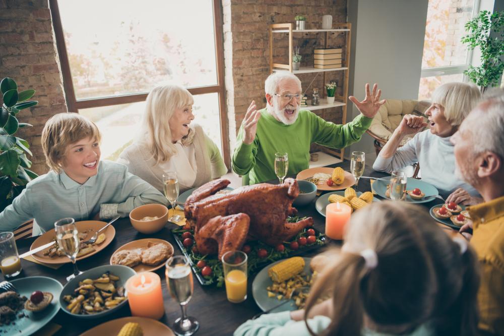 Familienfeiern: Eine andere Art Herausforderung